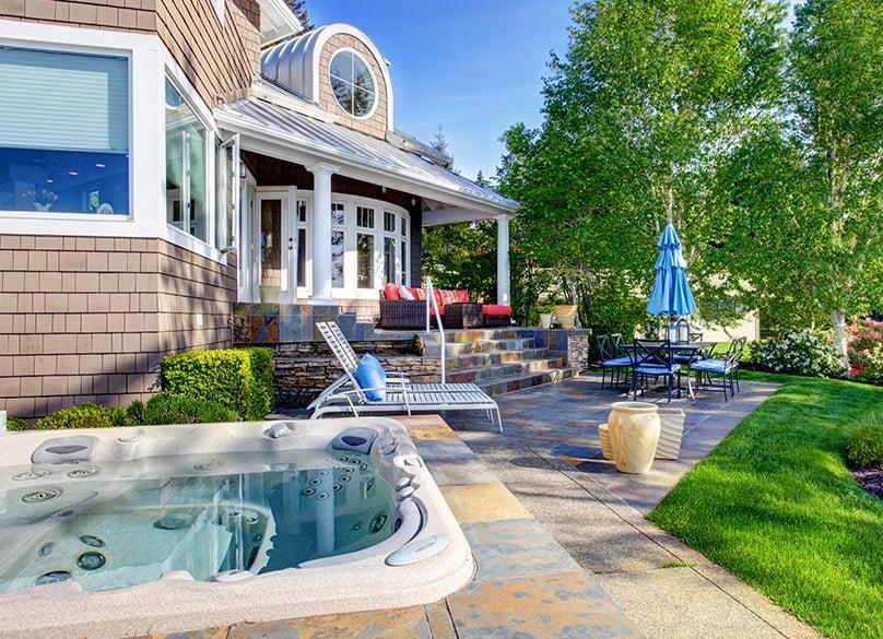 Luxury Hot Tub