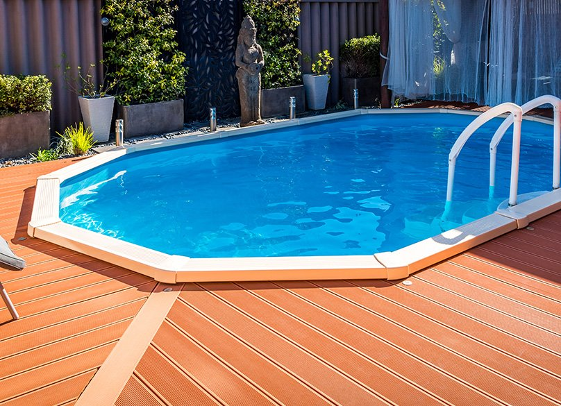 Add some decking for a great finish