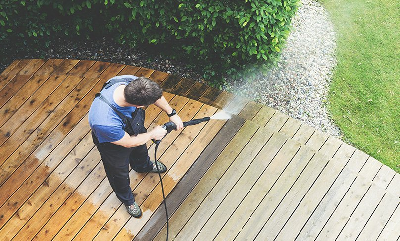 Perfect for cleaning decking
