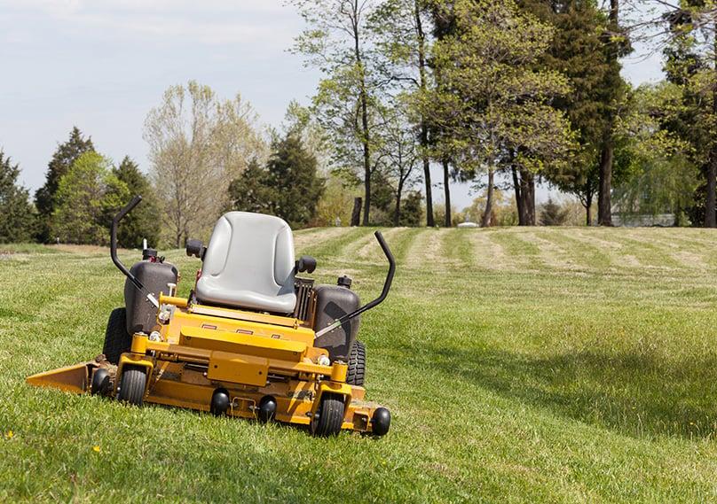 Zero turn mowers can make the job fun!