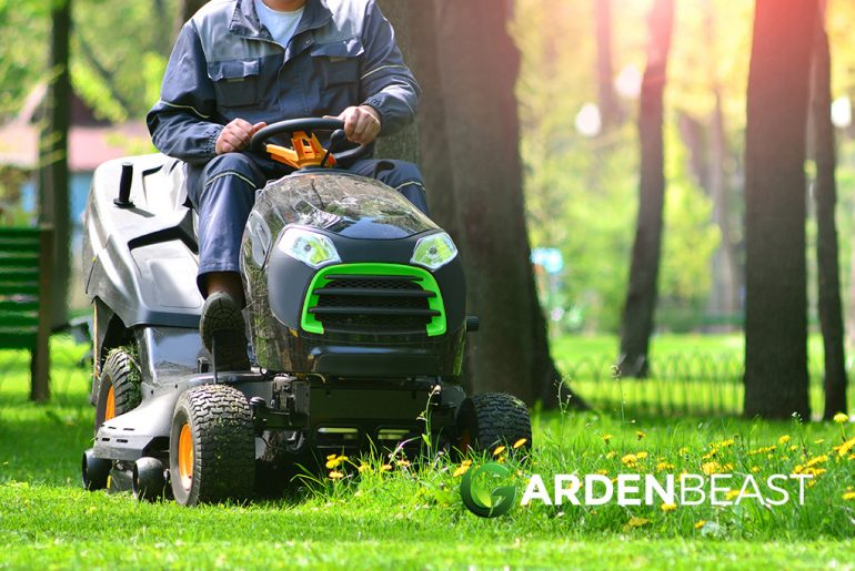 Small Riding Lawn Mower